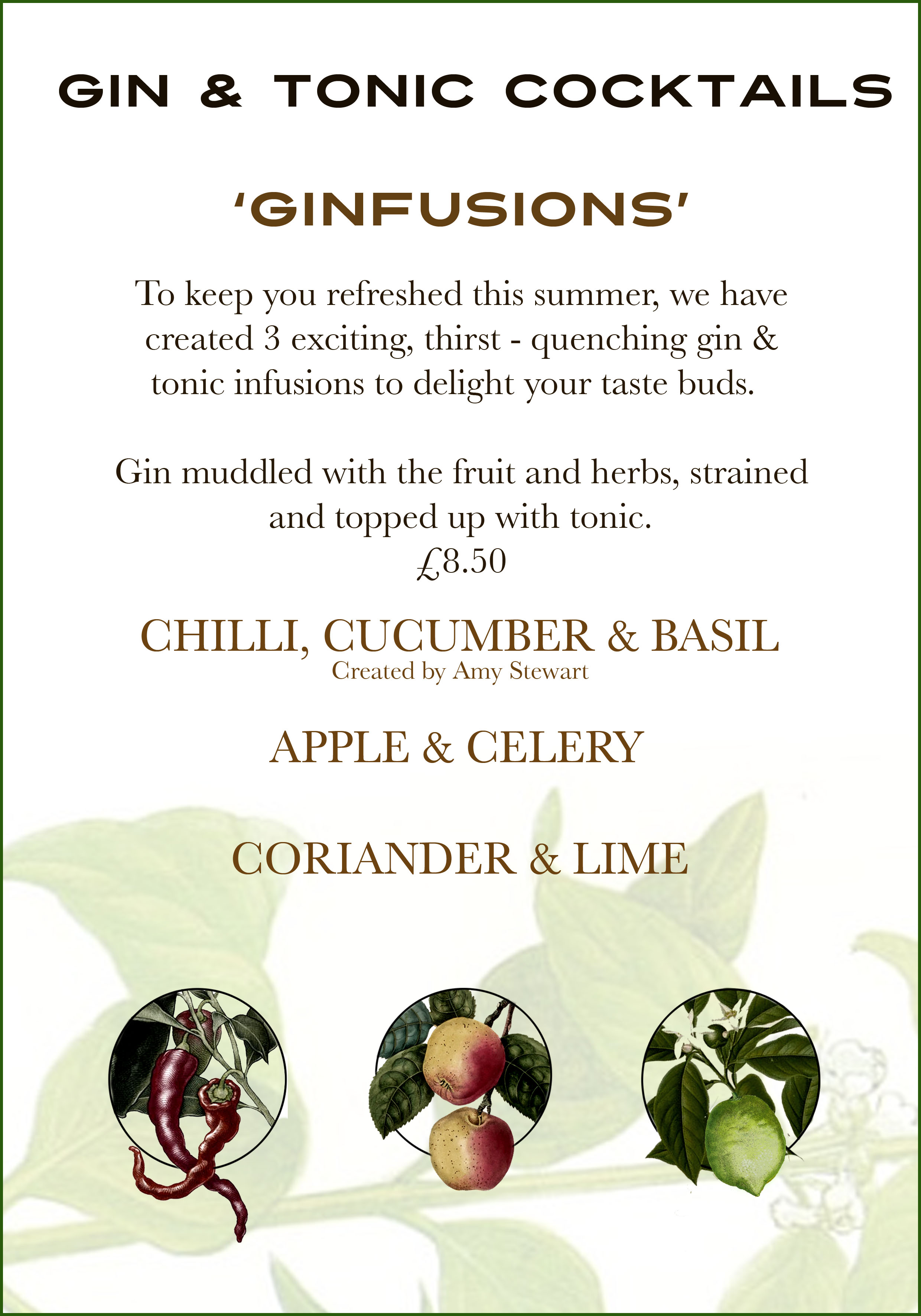Summer Ginfusions are here