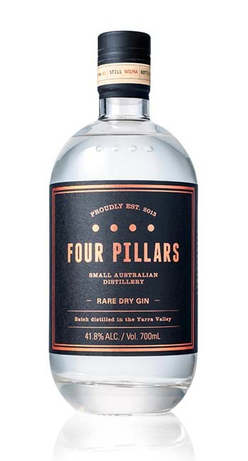 Gin review : Four Pillars rare dry gin