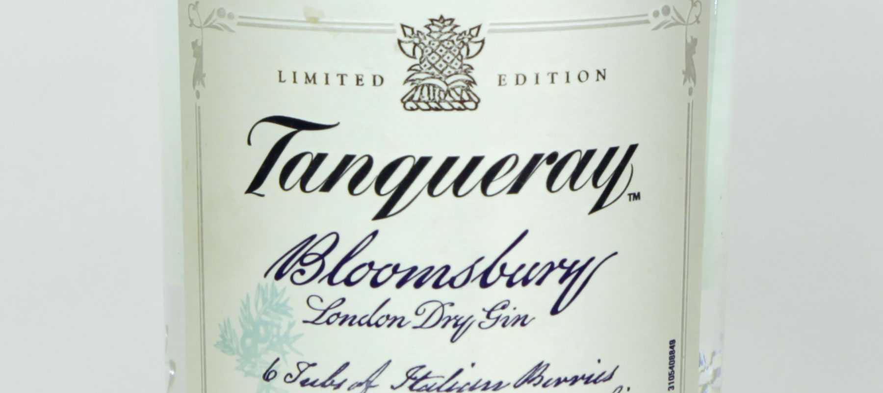 Gin review : Tanqueray Bloomsbury 47.3%
