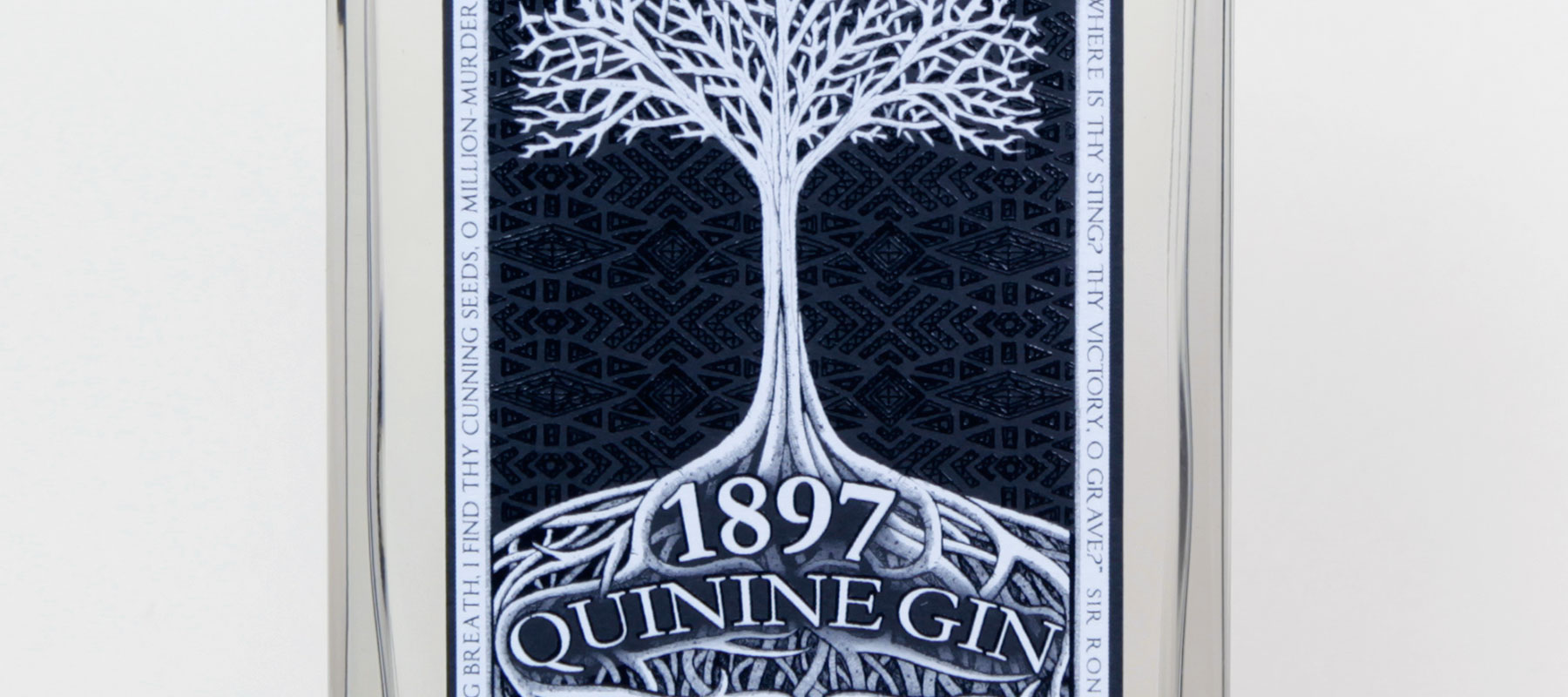 GIN REVIEW: 1897 QUININE GIN 45.8%