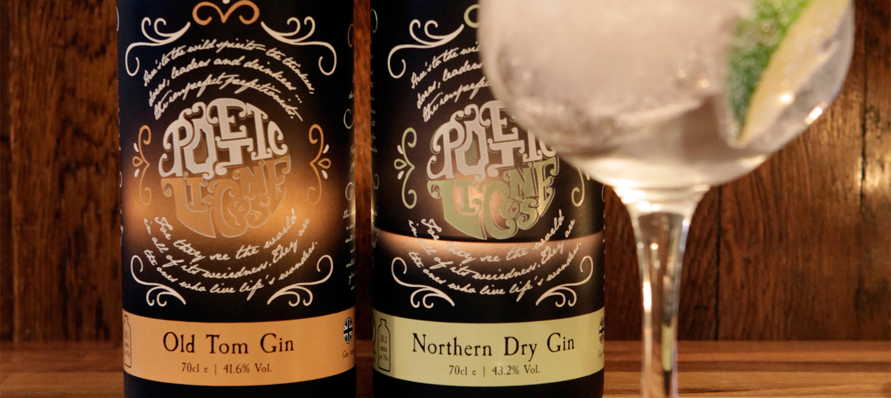 Gin Review: Poetic License Northern Dry & Old Tom