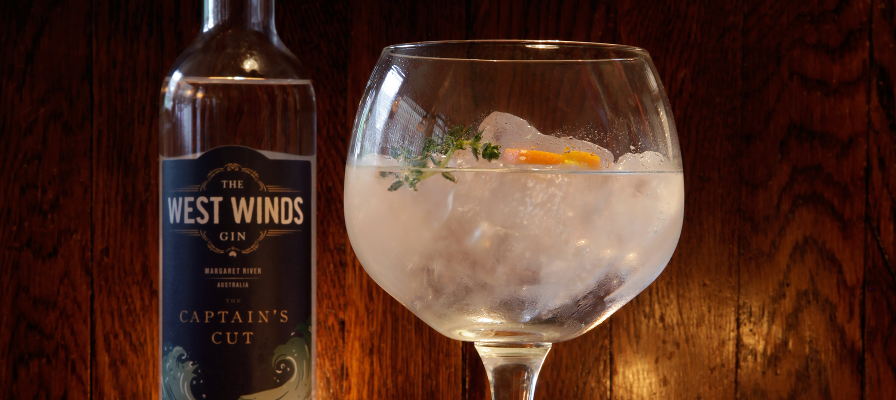 Gin review: The West Winds: The Captain's Cut 63% abv