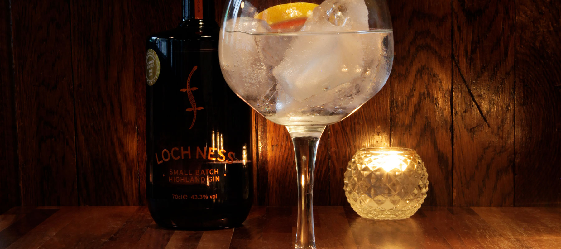 Gin Review: Loch Ness Gin 43.3% ABV