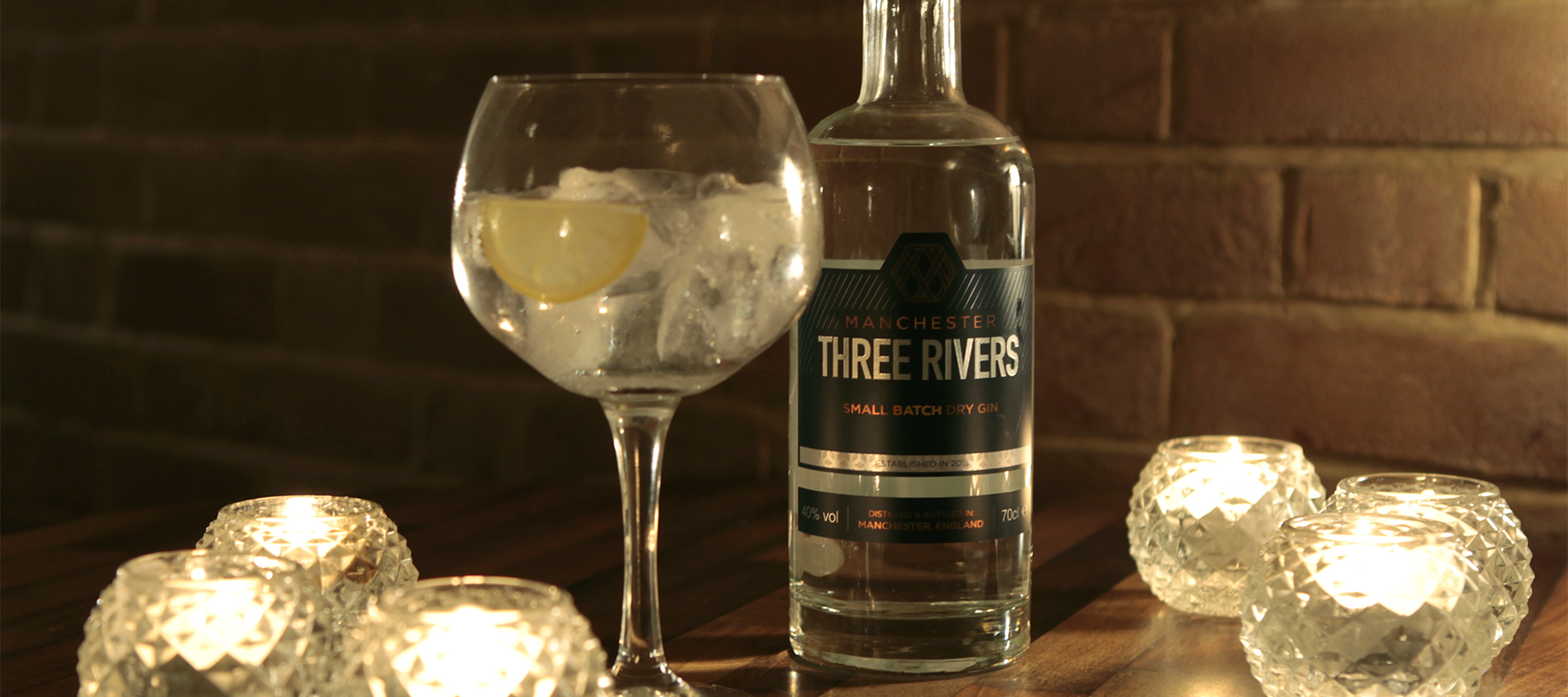 Manchester Three Rivers Dry Gin: 40% abv