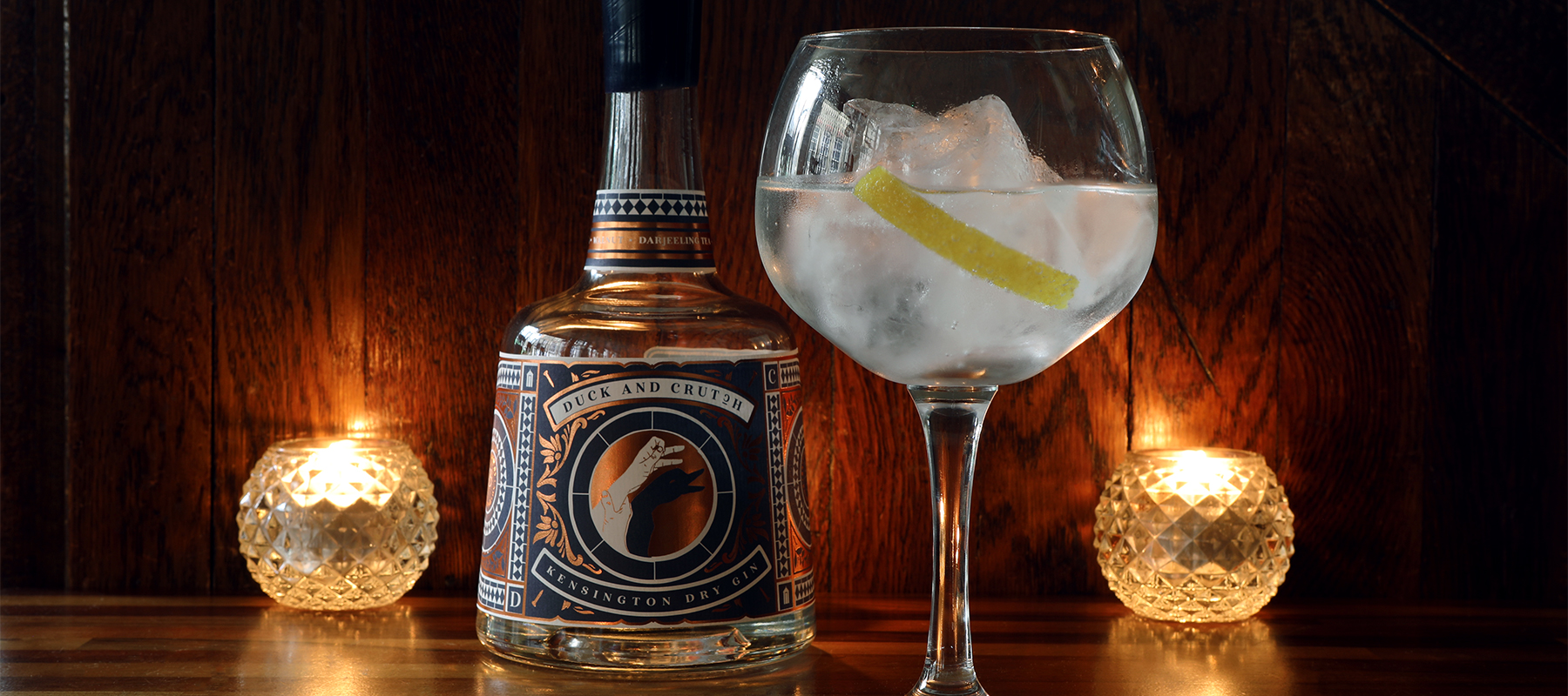 Gin Review: Duck and Crutch Kensington Dry Gin 45% abv