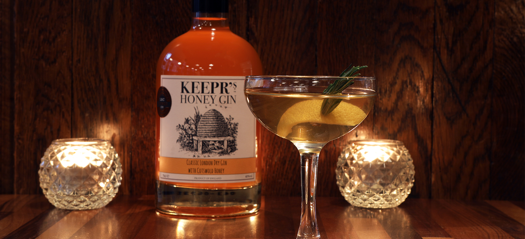 Gin Review: Keepr's Honey Gin 40% abv